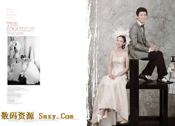 婚纱照设计模板纯色爱情 5