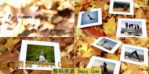 秋季落叶ae模板是一款ae cs4版本设计制作的 实拍ae相册模板,整个ae图片