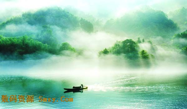世外桃源仙境风景高清图片