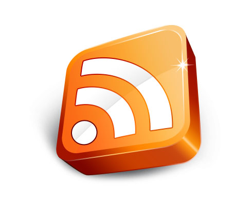 橙色立体WIFI图标设计PSD素材下载图片