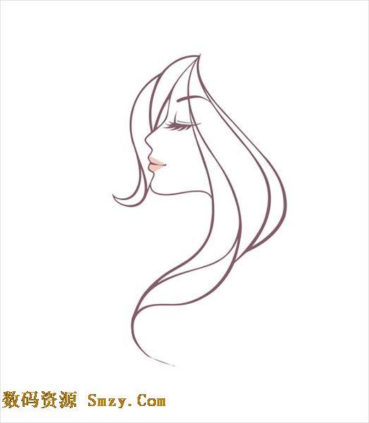 线描是一种绘画方式,头像的展示方式也可用这种形式,美女打架都喜欢,那么就来一张线描美女头像矢量素材,用简单的线条来展示美女的侧脸,浓密的睫毛,飘逸的长发,淡红的嘴唇,详细还请见JPG缩略图,小编推荐下载收藏!
