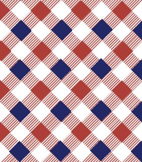 白色红蓝方格版面设计psd素材