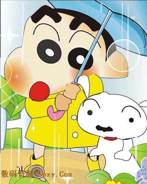 卡通日本动漫形象蜡笔小新高清图片