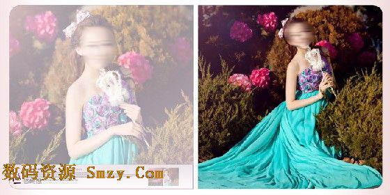 婚纱设计模板 浪漫爱情海