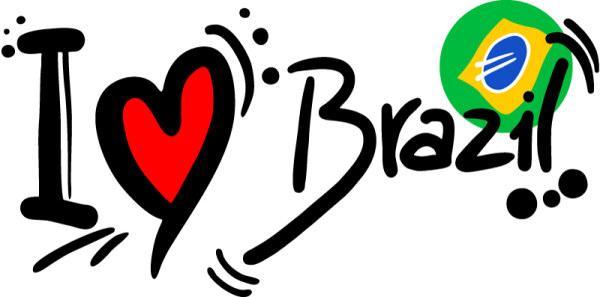 设计 > 我爱巴西涂鸦艺术字体矢量素材下载  我爱巴西,这是众多足球迷