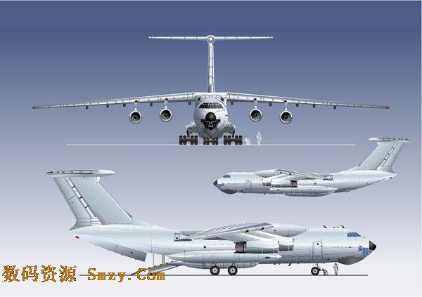 飞机机翼尾翼