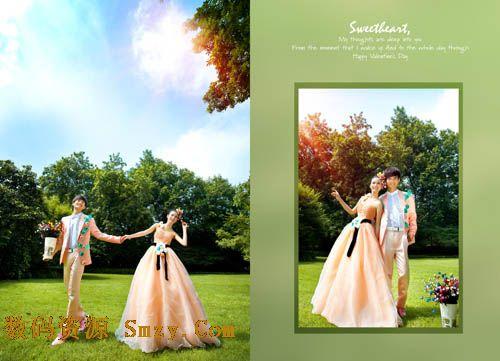 山水间模板婚纱设计模板婚纱摄影模板婚纱照设计模板