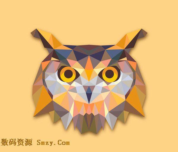 平面图形拼一幅画动物