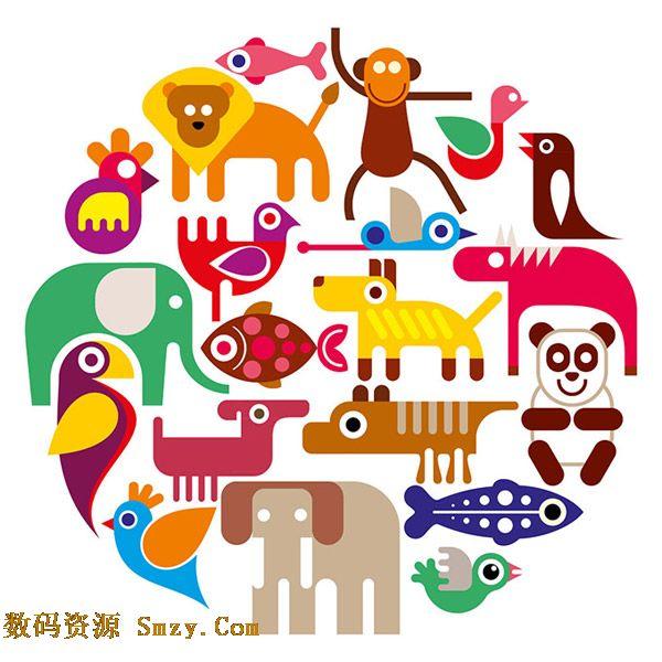 可爱的动物是我们的朋友,这里的这张可爱卡通动物聚合设计矢量素材展示的就是多种简约风格的动物,有狮子,猴子,鹦鹉,大象,熊猫,金鱼等等,简约但是特点突出,详细还请见JPG缩略图,欢迎喜欢的朋友点击下载收藏!
