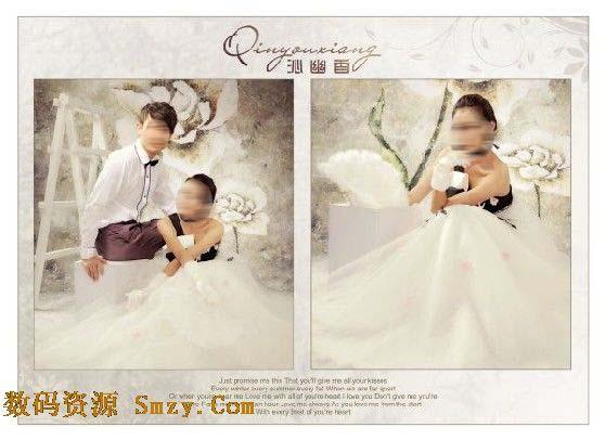 相关tags:婚纱设计模板沁幽香模板婚纱照相册