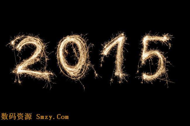 烟火2015设计背景高清图片