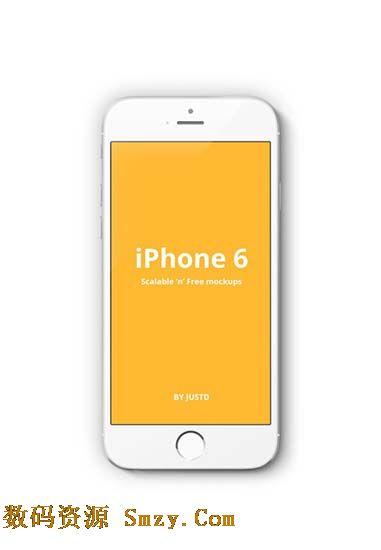 白色iphone6手机高清图片
