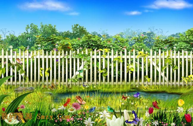春天大自然清新田园风光高清图片