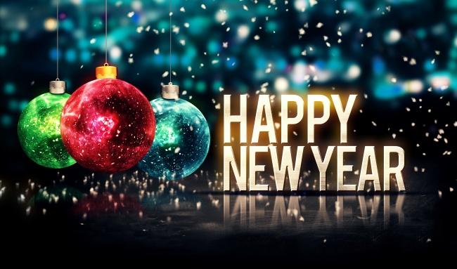 迎新活动,素材展示也需要新颖独特, 2016新年快乐英语艺术字高清图片
