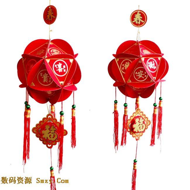 2015新年春节灯笼工艺品高清图片