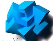 创意3d立体几何不规则多边形图形矢量素材图片