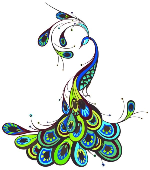 翠角高独耸,金华焕相差。坐蒙恩顾重,毕命守阶墀,这些诗句都是用来赞美孔雀的,可见孔雀的令人羡慕之美,精美孔雀背景设计矢量素材用简单的线条和蓝色调为主设计了精美的孔雀图案背景,详细还请见JPG缩略图,喜欢可以点击下载收藏!