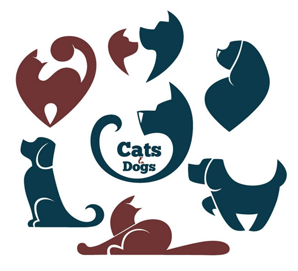 动物形象元素标志