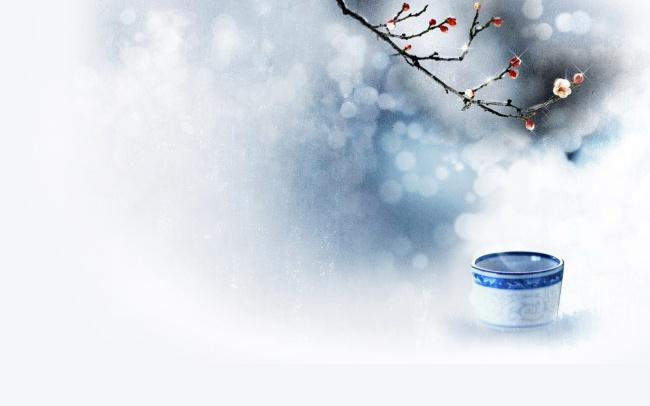 中国风图片素材 古风古韵唯美光晕景色高清图片下载 1680x