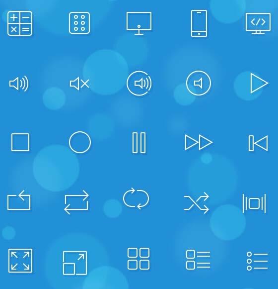 手机中的各种应用怎么区分功能类型,都是图标来展示, 苹果系统ios7