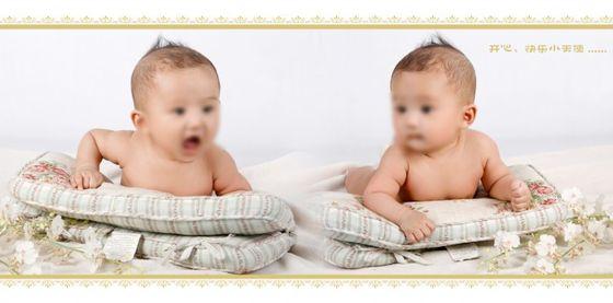 可爱宝宝一对两张