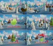 3D卡通圣诞节场景AE模板