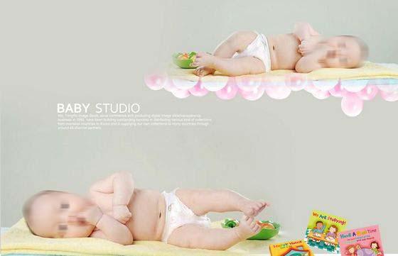 模板儿童模板儿童艺术照模板儿童摄影模板萌宝宝模板