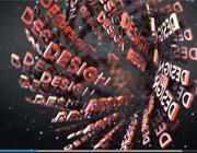 文字群集式标志演绎视频AE模板