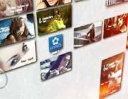 移动组合式相片墙效果AE模板