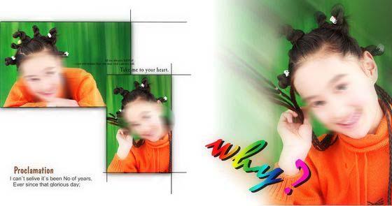 儿童相册模板女孩十岁 6