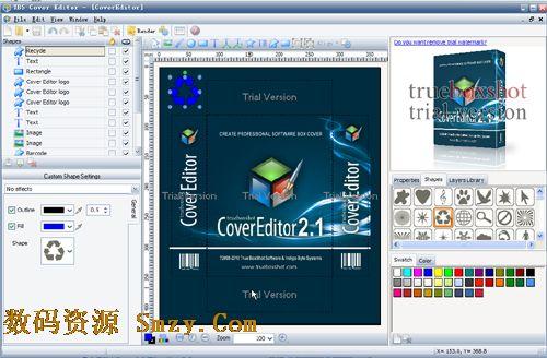 v=tbs_光盘封面设计软件(tbs cover editor) v 2.5.5 英文免费版