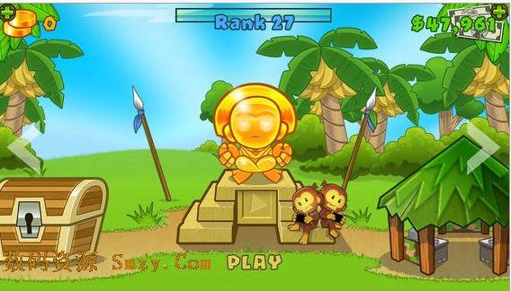 猴子塔防5苹果版 (苹果塔防游戏)