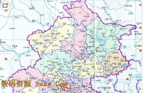 北京地图最新版(北京电子地图) 免费版