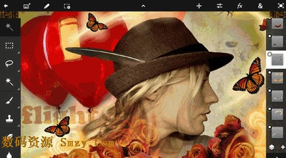 Adobe Photoshop Touch��׿�� (�ֻ�PS���) v1.4.1 ������Ѱ�