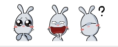 兔小七下载(QQ动态表情)v1.0.0.1绿色版-让情表尽友的包图片