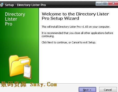 directory lister (文件列表生成器) v1.66 免费版