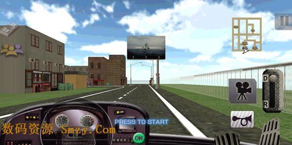 时间旅行所以放下乘客的时间   极度精确的模拟3d.大动态的游戏.