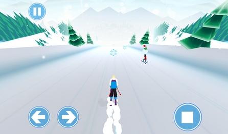 雪场大挑战ios版下载(苹果手机休闲滑雪游戏)