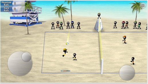 火柴人排球苹果版下载 手机排球游戏 v1.0 最新版
