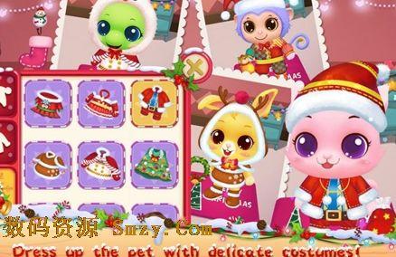 宠物平安夜安卓版下载  宠物平安夜安卓版游戏特色: 6超级可爱的动物