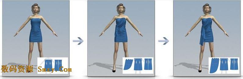 的服装图案设计功能