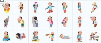 a动漫马戏团QQ表情下载(QQ可爱动漫祖师)+表情表情菩提包图片
