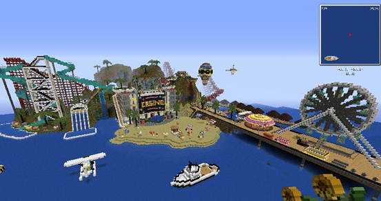 我的世界瑞德岛地图下载(我的世界存档)