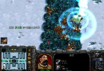 大雪地td魔兽地图(魔兽塔防地图) v3.3 免费版