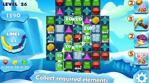 钻石爆破传奇iphone版(连线消除游戏) v1.1 苹果手机版