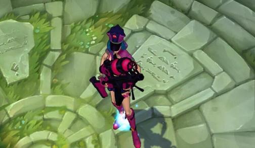 lol皮城女警电玩自制皮肤下载 英雄联盟凯特琳自制皮肤 v1.0 免费版