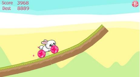 趣味兔子赛跑苹果版
