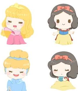 暴漫,金馆长,也来看看暖心的迪士尼公主表情包吧!