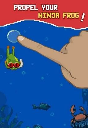 泡沫忍者蛙android版(bubble ninja frog) v1.1 最新官方版