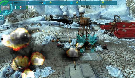 直升机大战是一款大型3d飞行射击游戏